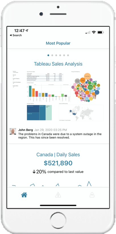 Metric Insights Mobile App